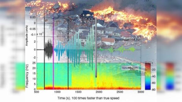Convierten las ondas sísmicas del terremoto de Japón en archivos de audio