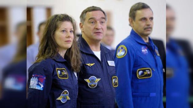 La tripulación de la siguiente expedición a la EEI está lista