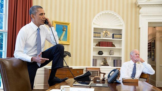 """Obama: """"El bombardero ganador de un Nobel de la Paz"""""""