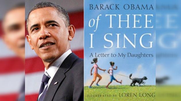 El libro infantil de Obama ya está en las librerías