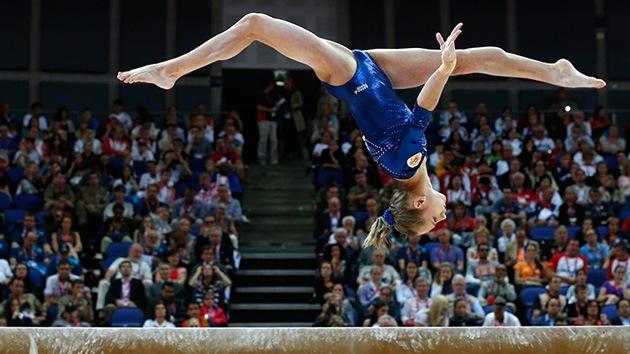 Londres 2012: Las rusas conquistan la plata y el bronce en gimnasia artística