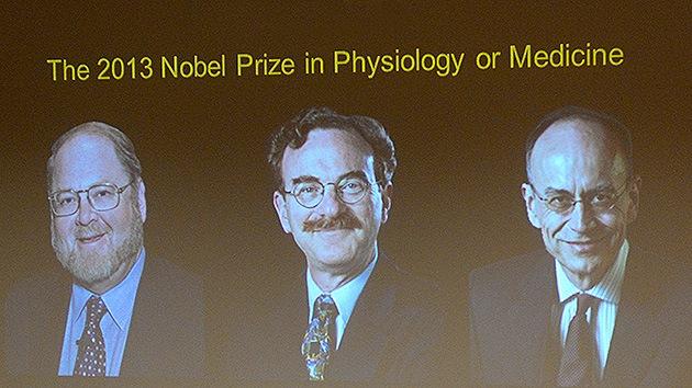Dos estadounidenses y un alemán reciben el Premio Nobel de Medicina 2013