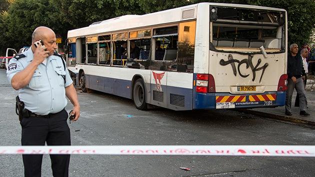 Explosión en un autobús de línea en Israel