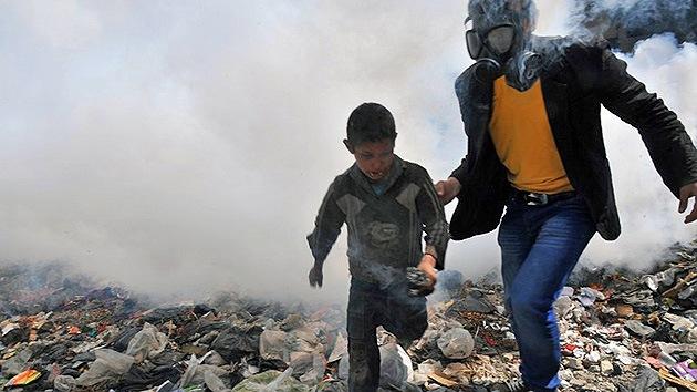 Investigadores de la ONU no saben si el Gobierno sirio ha usado gas químico