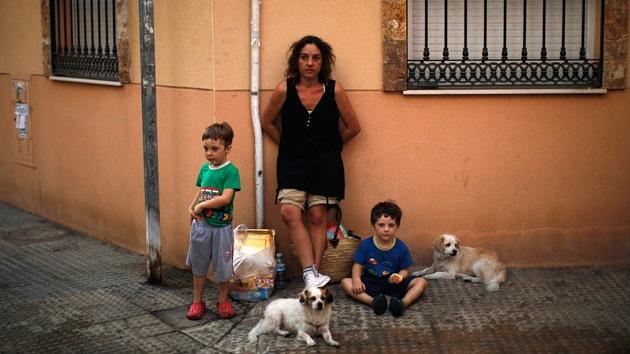 En España más del 27 por ciento de los niños viven bajo el umbral de la pobreza
