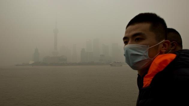 La 'ciudad verde' de China se pone gris