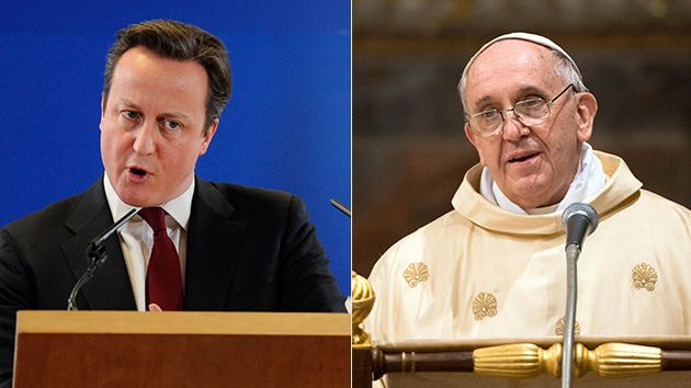 """Cameron critica a Francisco por las Malvinas: """"La fumata blanca sobre las islas fue muy clara"""""""
