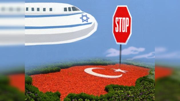 Turquía no deja pasar a un avión israelí