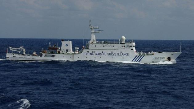 Siete barcos militares chinos, avistados en la zona de disputa con Japón