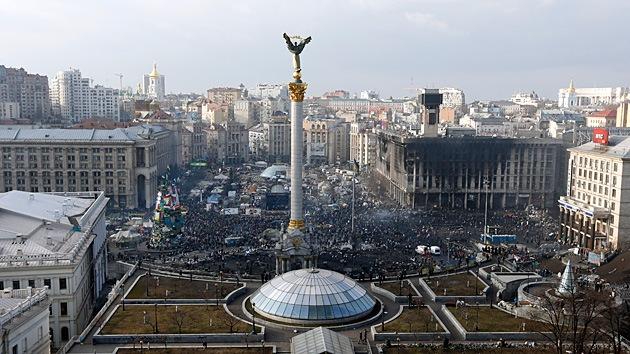 """El conflicto de Ucrania es solo """"parte de un mayor juego geopolítico"""""""