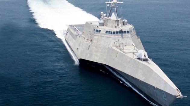 'Coronado' por el fuego: se produce un incendio en un buque de guerra de EE.UU.