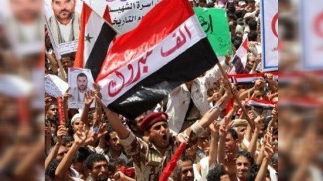Miles de yemeníes festejan la partida del presidente Saleh