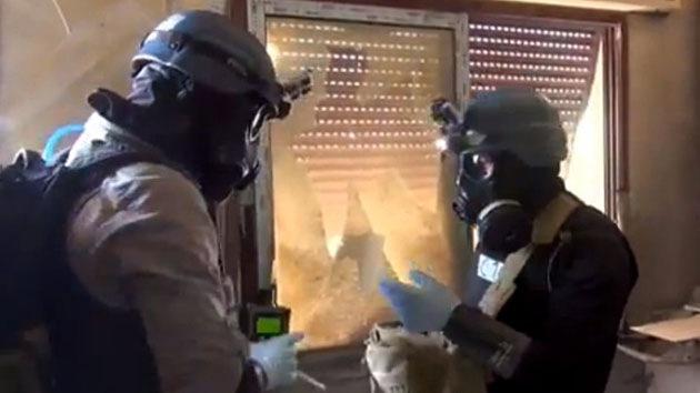 Occidente rechaza la petición de Siria de apoyo para el transporte de armas químicas