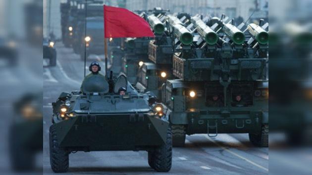Fotos: Moscú, cada noche más lista para el desfile del 9 de mayo