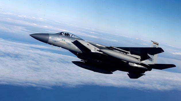 Un caza F-15 de EE.UU. se estrella en el norte de Inglaterra