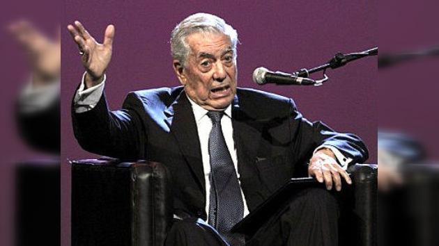 España: Vargas Llosa rechaza presidir el Instituto Cervantes