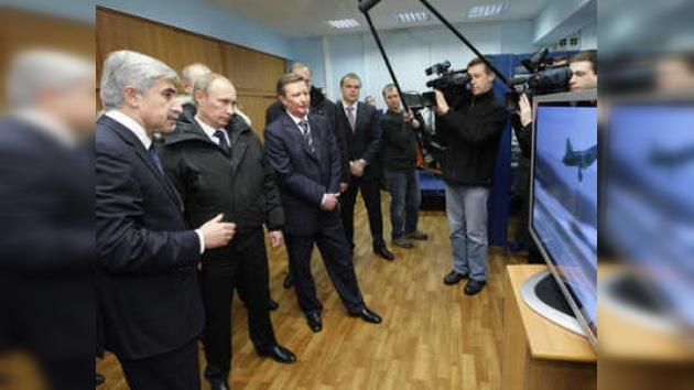 Putin planteó desarrollo de nuevo bombardero estratégico de 5a generación
