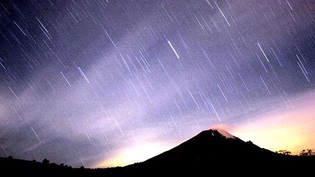 Una lluvia de estrellas jamás observada para el fin de semana