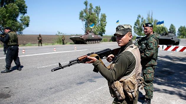 El Ejército ucraniano abre fuego contra una cafetería en la región de Lugansk