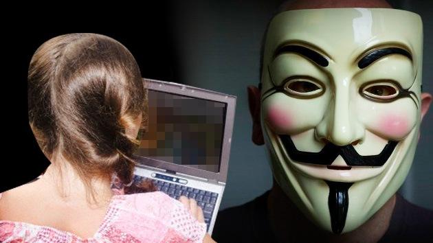 """Anonymous: """"Extirparemos la pornografía infantil de Internet y castigaremos a cada pedófilo"""""""