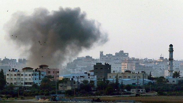 Israel lanza ataques aéreos contra la Franja de Gaza y Siria
