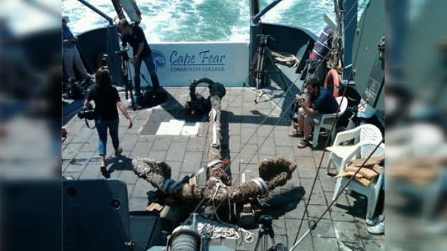 Levantan ancla del buque de Barbanegra tras permanecer casi 300 años en el mar