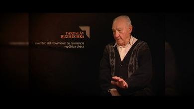 """""""TESTIGOS DE LA GUERRA"""".Yarosláv Ruzhéchka : Miembro del Movimiento de Resistencia. República Checa"""