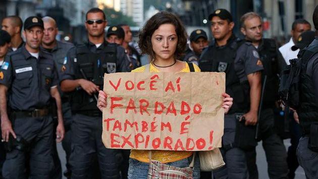 Brasil, a ritmo de protestas