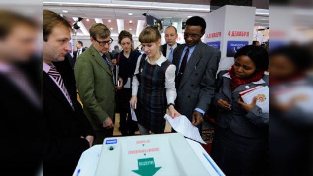 Las elecciones en Rusia son más abiertas que en Reino Unido, según observadores
