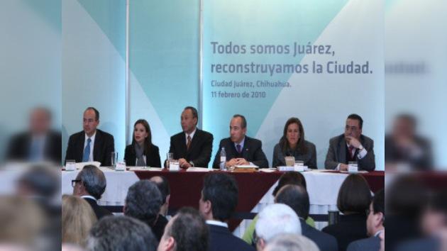 Calderón da un importante giro y se vuelca con Ciudad Juárez