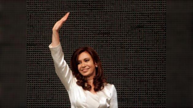 Acto en el estadio de Vélez: el kirchnerismo celebra los 'goles' de Cristina Fernández