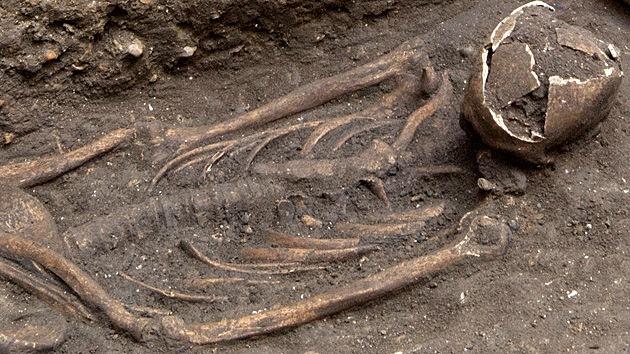 Revelan el misterio de los 25 esqueletos desenterrados bajo una plaza de Londres