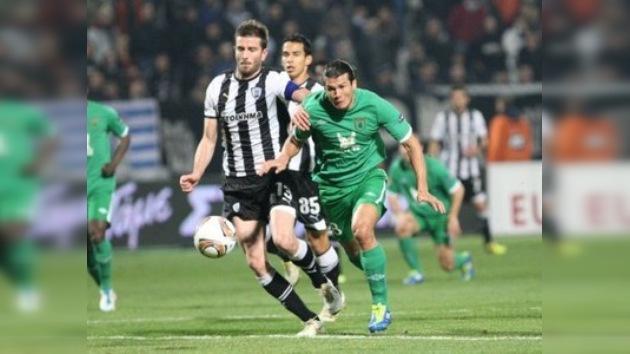 Liga Europa: Rubín clasifica a los play-offs tras un sufrido empate en Grecia