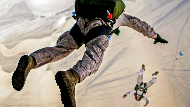 El Pentágono difunde fotos del intenso entrenamiento militar realizado en 2013