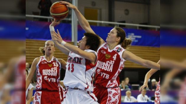 Rusia vence a Japón en su debut en el Mundial de Baloncesto femenino