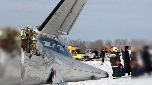 Falta de sustancias anticongelantes, causa del accidente aéreo en Siberia