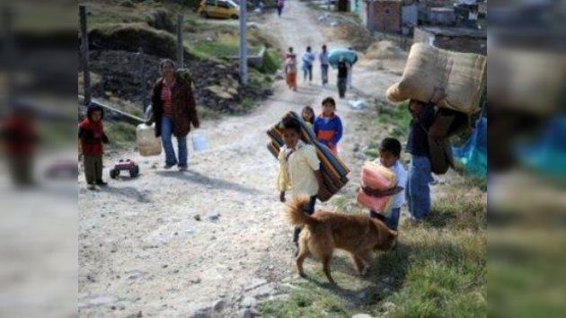 Colombia es el país con más desplazados y refugiados internos