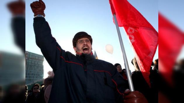 La oposición de diferentes ciudades de Rusia exige nuevas elecciones parlamentarias