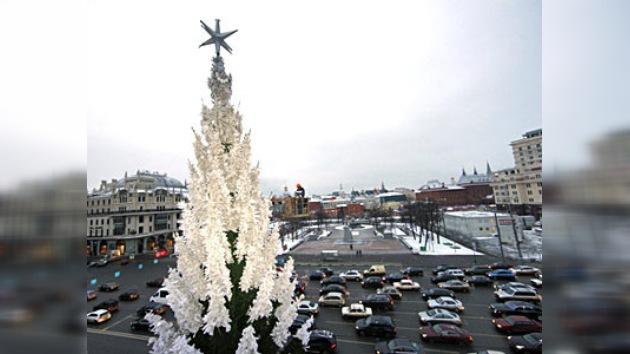 Rusia se prepara para celebrar el Año Nuevo