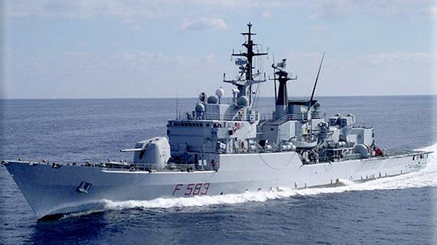 Una flotilla de barcos de la OTAN entra al Mar Negro