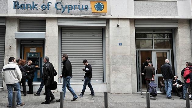 Chipre: Los depósitos grandes sufren un recorte del 37,5%
