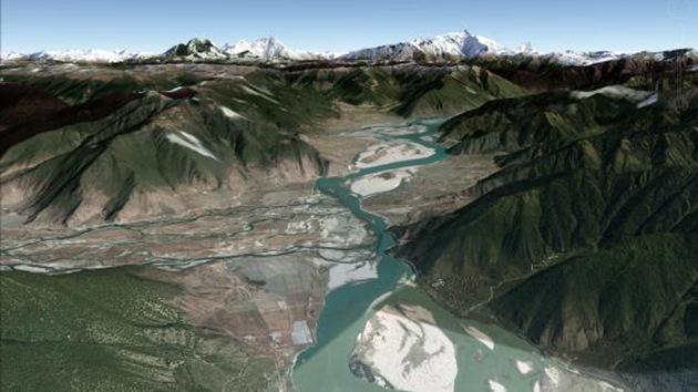 El descubrimiento de un cañón escondido en el Tíbet deja pasmados a científicos