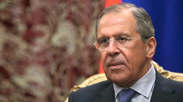 Lavrov: Rusia no tiene intención ni interés de cruzar la frontera ucraniana