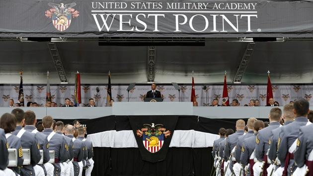 """Obama: """"EE.UU. debe liderar siempre en el escenario mundial"""""""