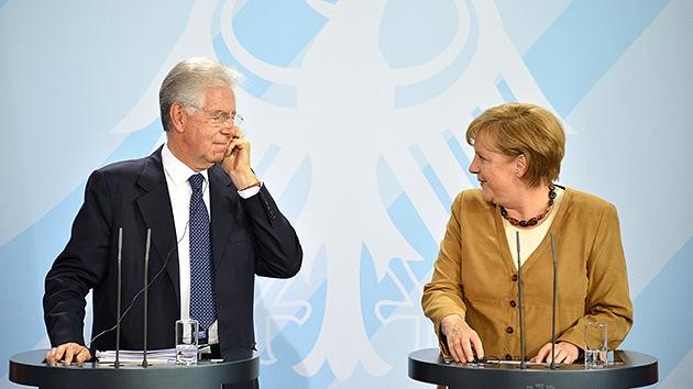 Merkel y Monti instan a la oposición siria a prepararse para tomar el poder