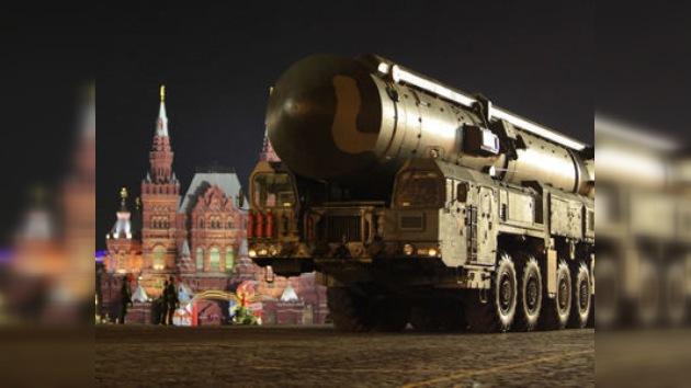 Misiles Tópol-M sorprendieron el lunes a la provincia de Moscú
