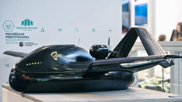Rusia presenta un innovador drone con tren de aterrizaje aerodeslizador