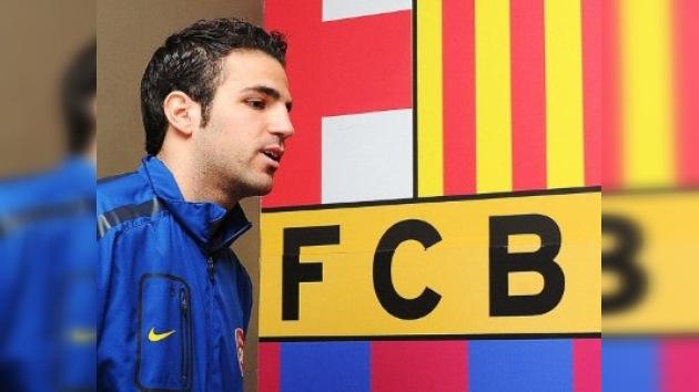 Cesc Fàbregas, a un paso del FC Barcelona