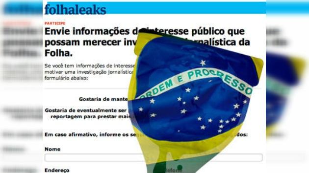 Brasil lanza un portal en la línea de WikiLeaks