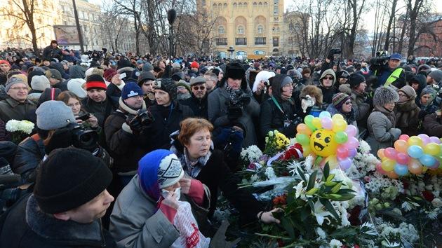 La oposición rusa se manifiesta sin autorización en Moscú